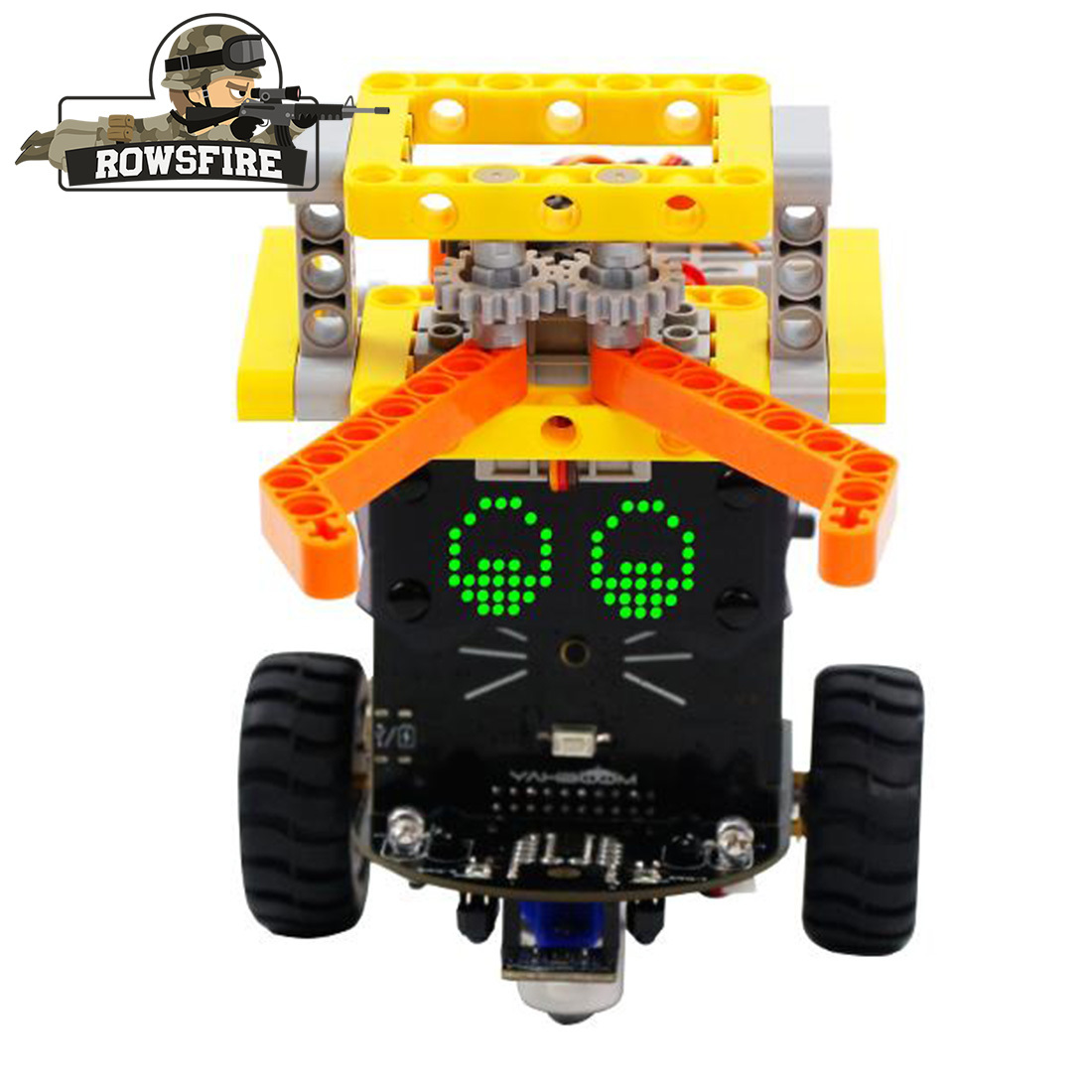 High Recommend 1 Set Fighting Version Omibox Scratch Programmable Robot Car Kit Toy Games For Children Adult Creative Gift