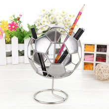 F7 FOOTBALL PEN&PENCIL CUP/HOLDER WORLD CUP GAME/MATCH STAINLESS HAND-MADE ART CRAFTS WEDDING&BIRTHDAY&HOME&OFFICE&GIFT&PRESENT