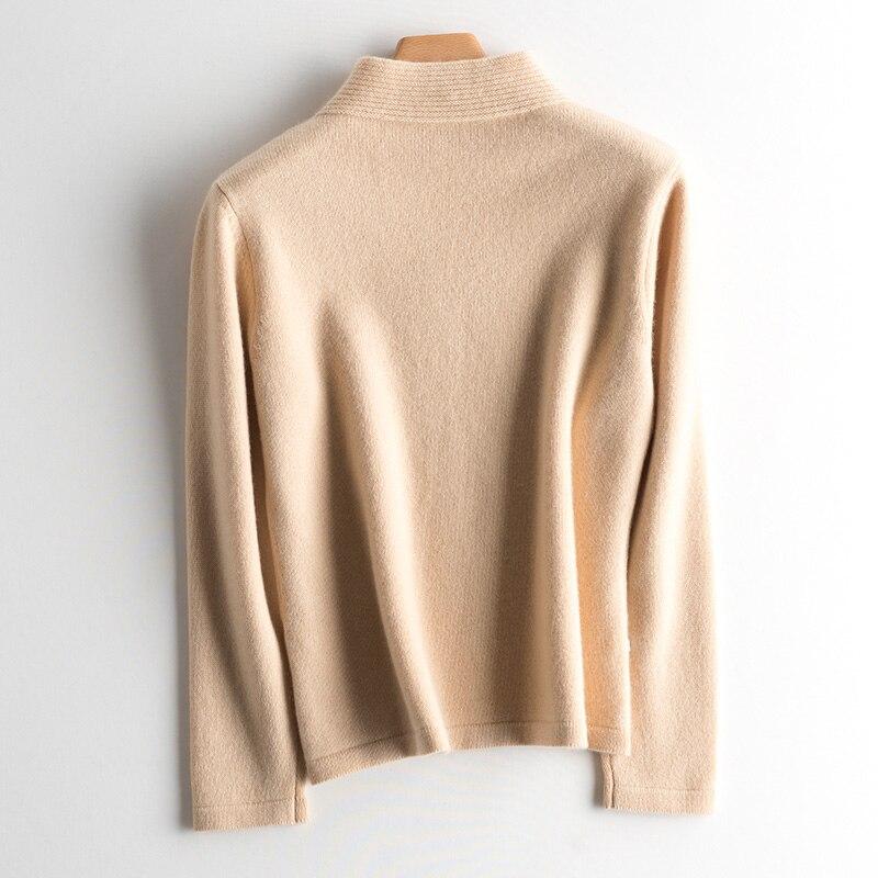 7b905189464f Kleidung Beige Frauen Top Gestrickte Softamp; Mode Dicken Qualität ...