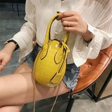 Summer portable small bag new dinosaur egg chain slung shoulder change phone Fashion Ladies Luxury Bags 2019