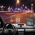 Confiável X5 3 ''ícone de Combustível OBD II HUD Carro Universal Cabeça Up Display LED Aviso MPH Velocidade Ma28 dropshipping