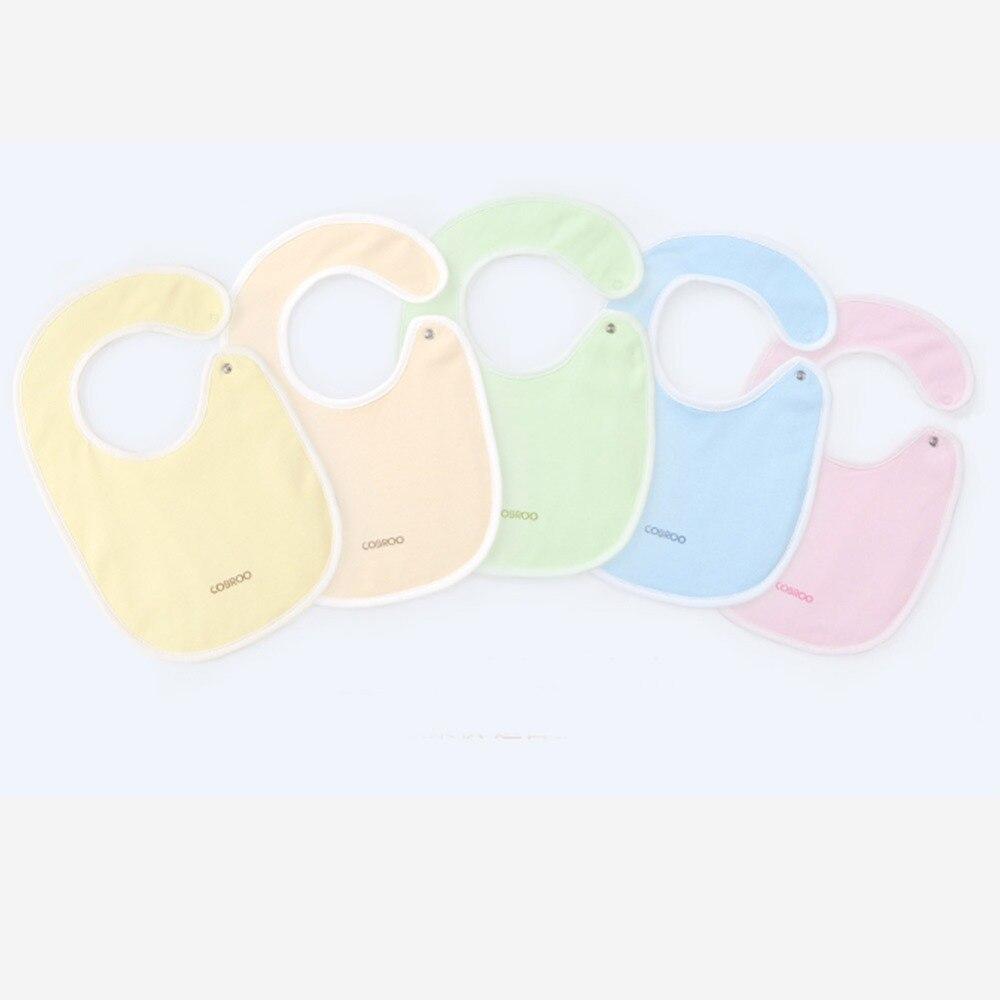 COBROO Śliniak dla niemowląt w jednolitym kolorze Unisex-Baby 100% - Odzież dla niemowląt - Zdjęcie 3
