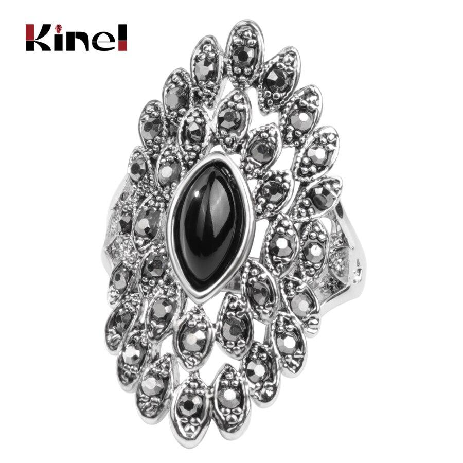 Aliexpresscom  Buy Kinel Unique Vintage Jewelry Gray -8418