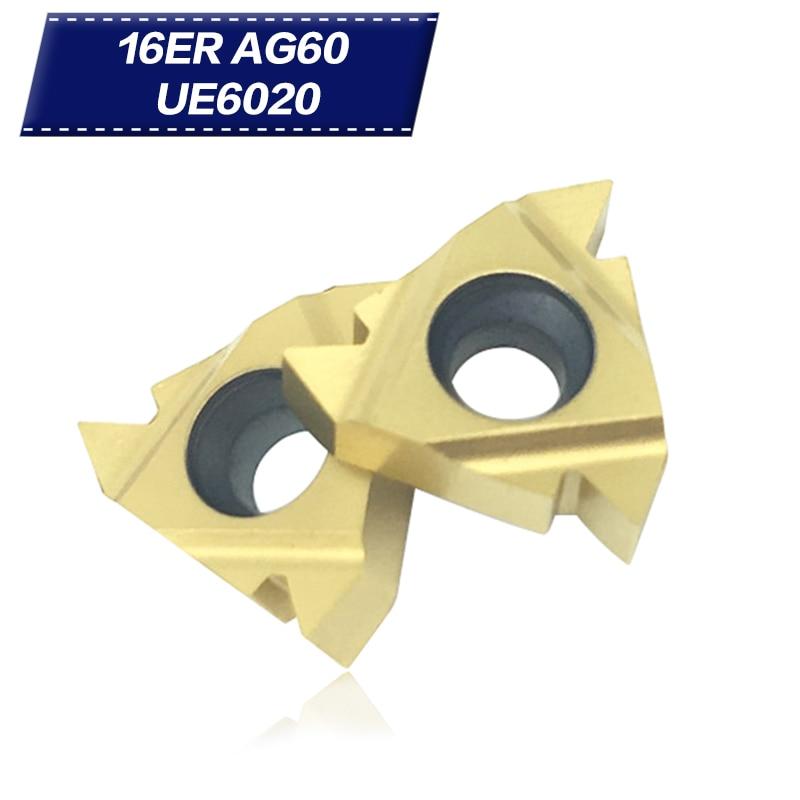 SER1616H16 Lathe Threading Turning Tool Holder CNC 10PCS 16ER AG60 16ERAG60