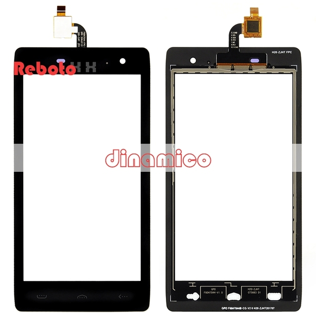 1pcs 4.7'' Reboto HT20 touch replacement FOR HOMTOM HT20 Digitizer Touch Screen Glass Panel Touch Screen Digitizer Free Shipping