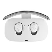 Беспроводные наушники X18 TWS Bluetooth наушники невидимый наушник с зарядным устройством беспроводные наушники гарнитура Bluetooth наушники