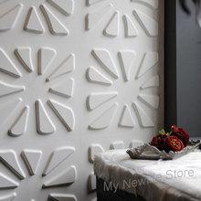 купить 3D relief wall sticker foam Stone Brick tiles Living Room bedroom Home Decor Kids room Mural Selfadhesive Wallpaper 30*30cm 5Pcs по цене 2005.39 рублей