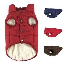 Одежда для собак, одежда для собак, зимняя теплая одежда для собак, пальто для щенков, одежда для домашних животных для маленьких и больших собак, жилет, куртка