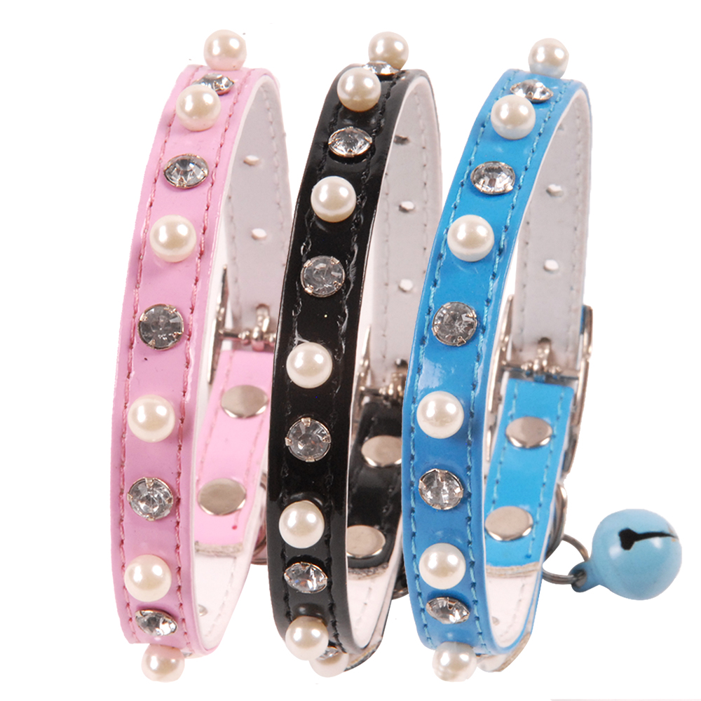 Cat Collar With Bell Dog Collar For Cats Puppy Collars For Cats Kitten Cat Collar Pet Lead Dog Leashes Pet Supplies Pet Products (1)