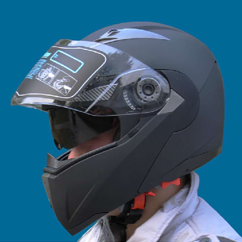 Safe Flip Up Motorcycle Helmets With Inner Sun Visor JIEKAI105 Everybody Affordable Motocross cascos Helmets