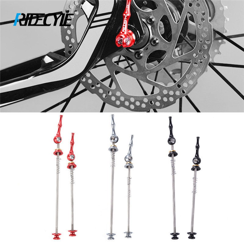 ZTTO 1 Pair Bicycle Skewers MTB Road Bike QR Quick Release Skewer Front/&Rear Set