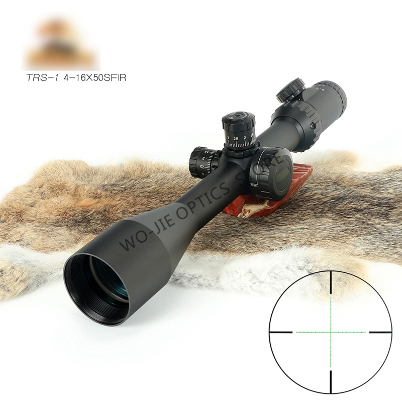 Millett 4-16 Mid Dot Sight Optics Riflescope 30mm Tube Diameter With Free Scope Mount Hunting Rifle Scope