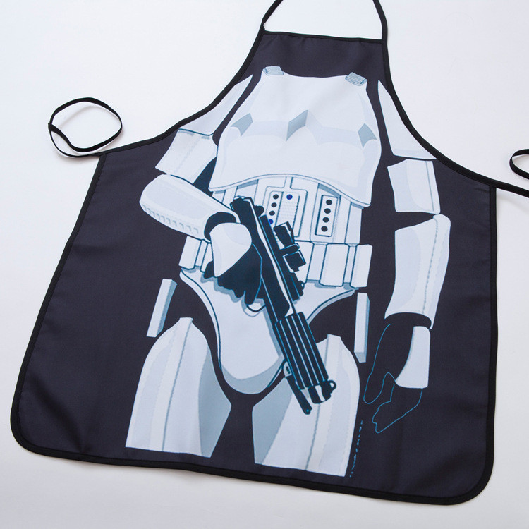 Funny Star Wars Soldier Kitchen Apron