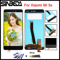 Sinbeda AAA Quality 5 15 For Xiaomi MI 5s Mi5s M5s LCD Display Touch Screen Digitizer
