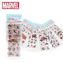 """6 шт./компл. Marvel игрушки Мстители завершающей Стикеры s 3D """","""" Халк """","""" Железный человек """","""" Черная Вдова, Капитан Америка Стикеры пакет для автомобиля для ноутбука"""