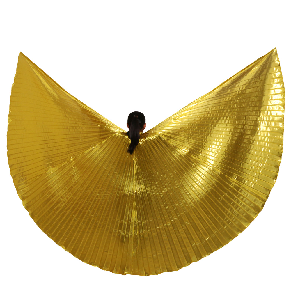 2016 Hot Women High quality Belly Dance Isis Wings Oriental Design New Wings without Sticks(China)