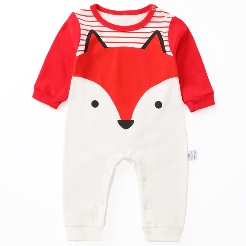 Spring Baby   Rompers   Cotton Baby Boy Baby Girl Clothes Kids Clothing Cartoon Newborn Baby Clothes Roupas Bebe Infant Jumpsuits