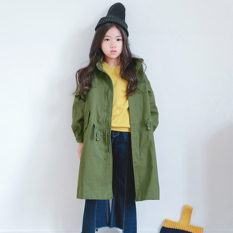Windbreaker For Teen Childrens Trench 2019 Spring Trench Coat For Girls Long Jacket For A Teenager Kids Clothes New Outwear 12Windbreaker For Teen Childrens Trench 2019 Spring Trench Coat For Girls Long Jacket For A Teenager Kids Clothes New Outwear 12