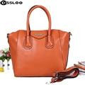 2016 New Wholesale Women Messenger Bags Designer  Leather Handbag Brand Sheepskin Large Tote Bag