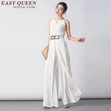 Женские деловые повседневная одежда Комбинезоны для женщин 2017 элегантный брючный комбинезон для женщин женские комбинезон с длинным AA2116 w