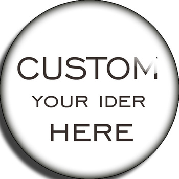 LUWELLEVER Custom 10mm 12mm 14mm 16mm 18mm 20mm 25mm Round Glass Cabochons Jewelry Findings Snap Button Component