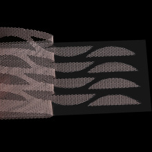 120 шт/упаковка марлевые сетчатые кружевные палочки невидимые двойные складные наклейки для век без клея невидимая узкая лента большие глаза инструмент для макияжа