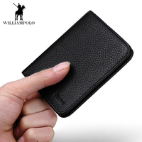 100 Top Quality Genuine Leather Men Wallets Luxury Dollar Price Short Style Male Purse Famous Brand