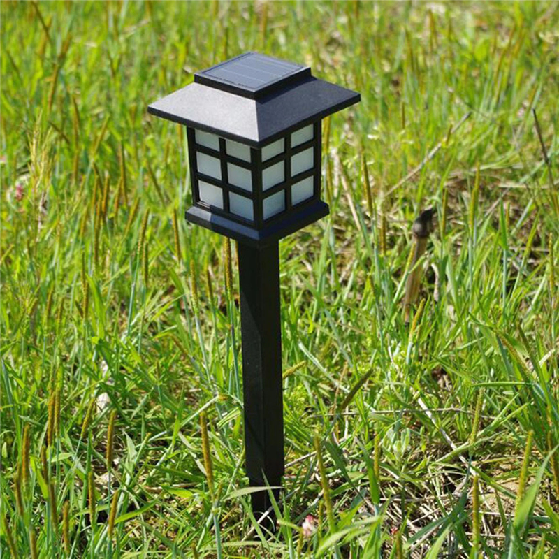 Waterproof LED Solar Garden Light Outdoor Landscape Lawn Lamp Solar Ground Lamp Home Garden Pathway Decoration Night Light