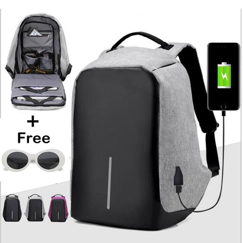 Hot Selling Anti Theft Backpack Anti-theft Usb Charging Travel Backpack 3502080 canemu anti theft simulator