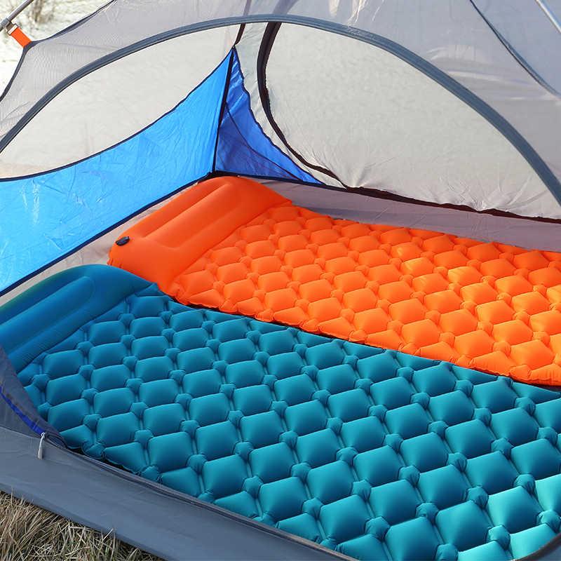 Палатка Air Camping Mats двойная надувная подушка на открытом воздухе 2 человека для пикника пляж два плед одеяло детский коврик домашний отдых мягкий матрас