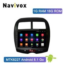 Navivox Android 8.1/9.0 Car Radio Multimedia Player 2 din dvd GPS For Mitsubishi ASX 2010-2017 Navigation headunit Stereo audio