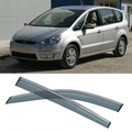 New 4pcs Blade Side Windows Deflectors Door Sun Visor Shield For Ford S-MAX