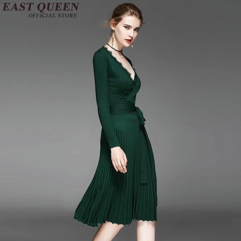 8892d8dee2d Robes Longues 1 Manches Moulante 2 Pulls 4 Tunique Femme V H Pull Cachemire  3 À En ...