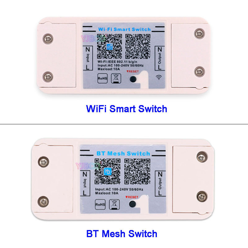 Magic Home Smart Bluetooth WiFi Switch Controller AC 110V~220V 10A IOS Android APP ON/OFF Timer LED Light Controller mini dimmer image