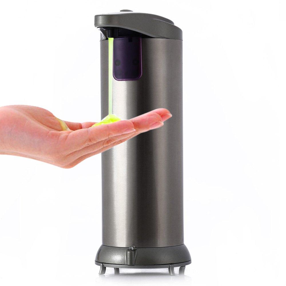new 280ml shower soap shampoo dispenser automatic stainless steel sensor soap u0026 sanitizer dispenser touch