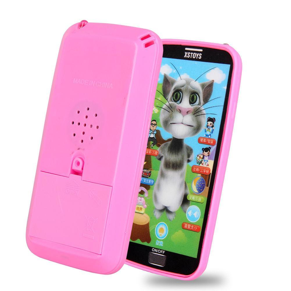 Kids Simulator Music Phone Touch Screen Children Educational Toy Gift