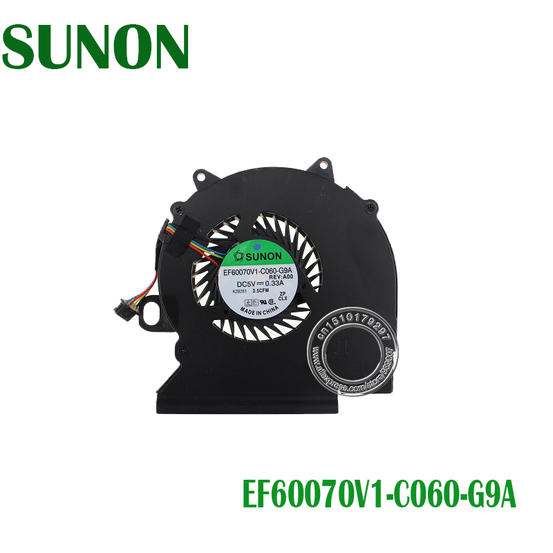 NEW Original SUNON EF60070V1-C060-G9A AT0LK001ZCL AT0LK001ZSL KSB05105HA-BH57 CN-09VGM7 CPU COOLING FAN FOR DELL LATITUDE E6330NEW Original SUNON EF60070V1-C060-G9A AT0LK001ZCL AT0LK001ZSL KSB05105HA-BH57 CN-09VGM7 CPU COOLING FAN FOR DELL LATITUDE E6330
