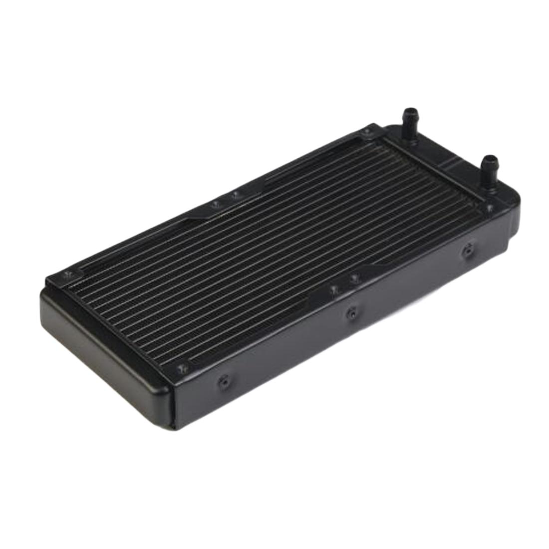 NOYOKERE di Alta Qualità 240mm G1/4 Del Computer In Alluminio Del Radiatore di Raffreddamento Ad Acqua Per CPU Dissipatore di Calore HA PORTATO