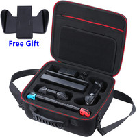Carrying Hard Case for Nintendos Switch, W/ Protective Foam, Shockproof Travel Shell Bag for Nintend Switch Console Accessories