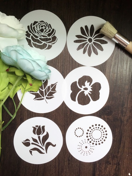 6pcs scrapbooking tool card diy album masking spray