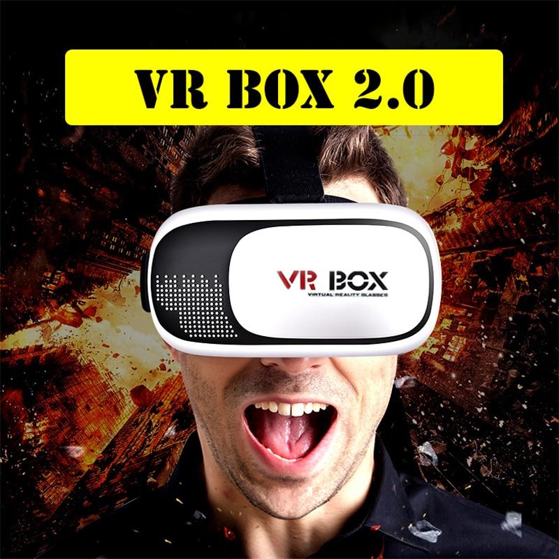 Новые VR Box II 2.0 Версия виртуальный видео фильм игровой смартфон 3D Очки гарнитура <font><b>Bluetooth</b></font> Remote джойстик подарок для детей