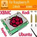 Raspberry Pi 3 módulo B 2.4 polegada tft Touchscreen, raspberry pi LCD, exibição raspberry pi, 48 MHZ inteligente do que raspberry pi LCD 3.5