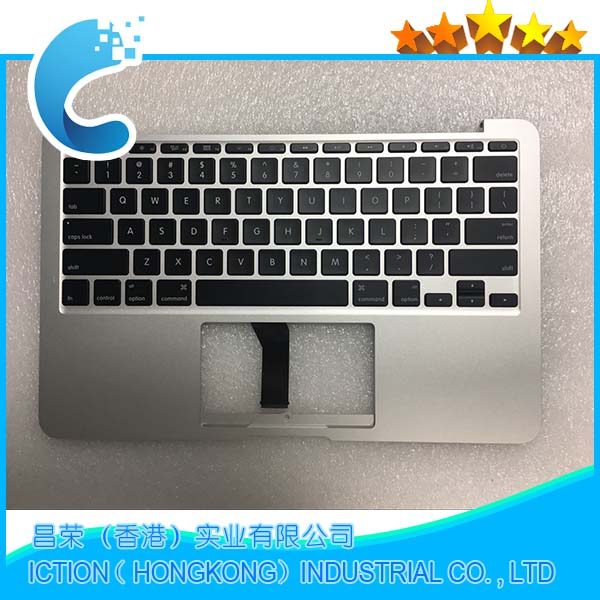 Genuine New A1465 Topcase For Macbook Air 11.6 '' A1465 Top case With US keyboard 2013 2014 2015 Years new topcase with no norway norwegian keyboard for macbook air 11 6 a1465 2013 2015 years