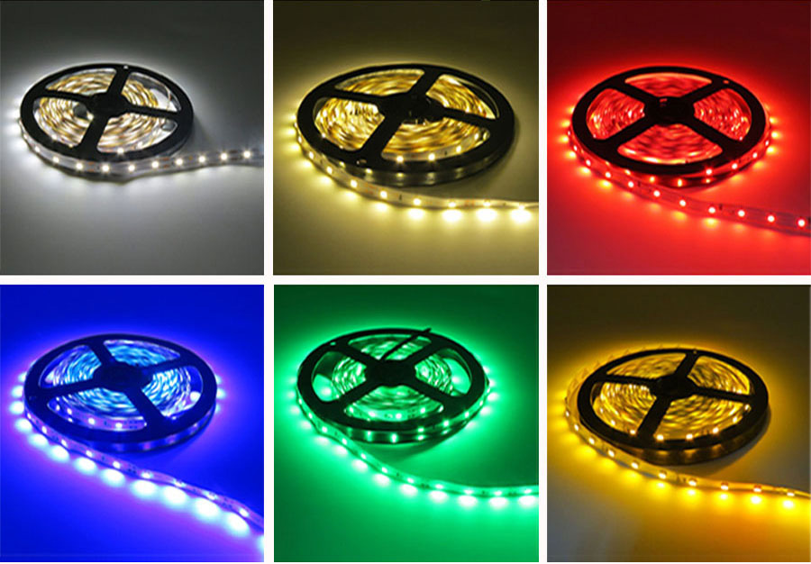 5 meter 300Leds Non-waterproof RGB Led Strip Light 2835 DC12V 60LedsM Flexible Lighting String Ribbon Tape Lamp Home Decoration (8)