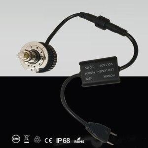 Image 4 - DLAND OWN D40, focalisation à 360 degrés, 90W 6000LM, ampoule AUTO LED avec puce CREE H1 H3 H7 H11 HB3 HB4 880 881