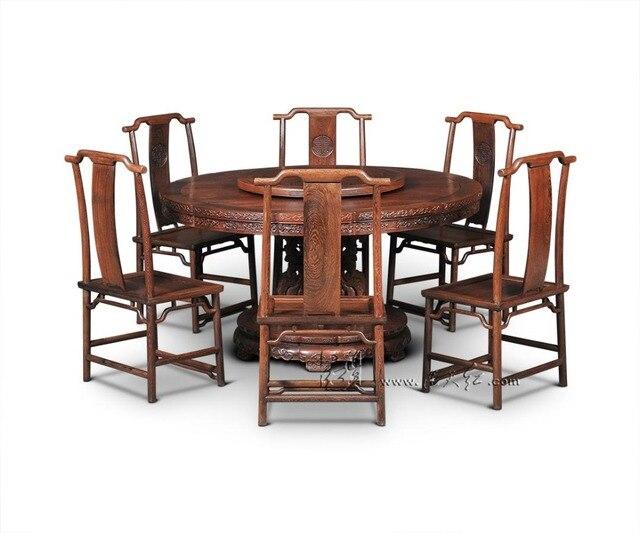 Einzel bein Runde Tische Möbel sets mit Plattenspieler Palisander 8 ...