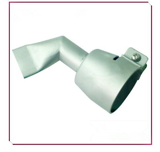 New 20mm 60 Degrees bent Angled Wide Slot Nozzle for Hot Air Membrane Welding gun welder tips plastic welding accessories tools