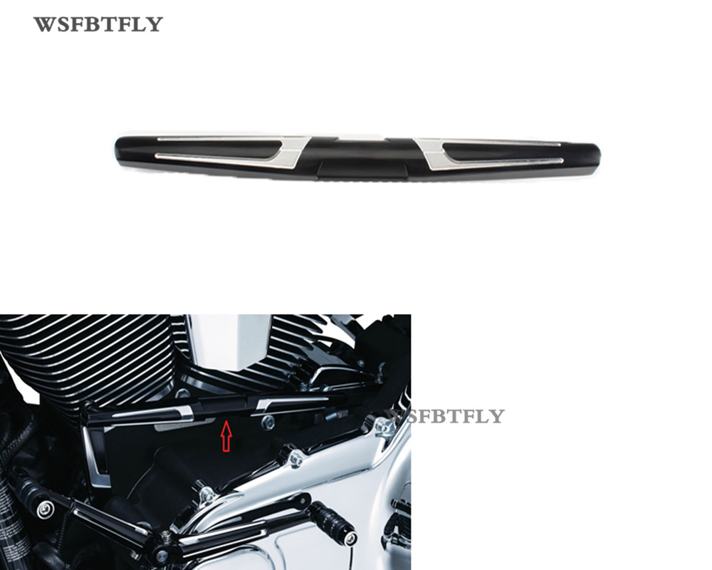 Motorcycle Bahn Shift Linkage Cover For Harley Electra Glides Road Glides Road King 1999-2016 03 04 05 06 07 08 09 cover co182 05