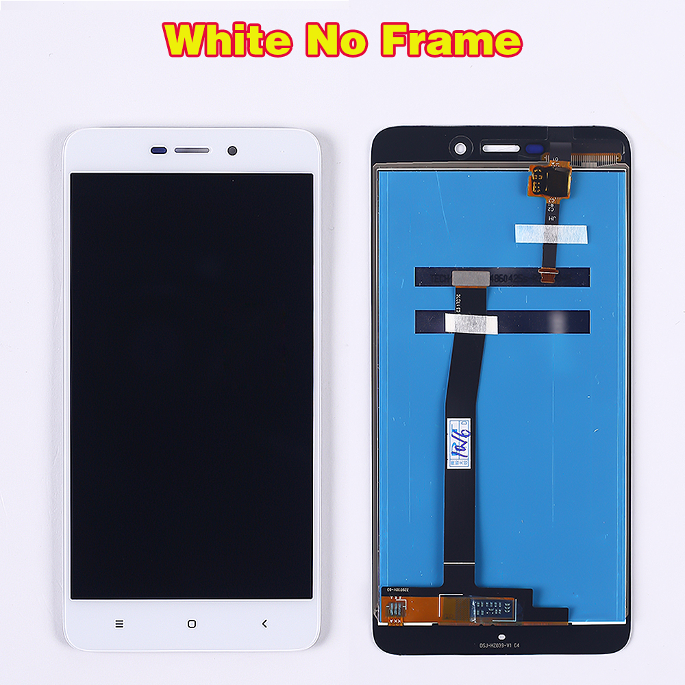 HTB1.EJ2aPzuK1RjSspeq6ziHVXal 100% Tested LCD display For Xiaomi Redmi 4A 5.0 inch Touch Screen 1280*720 Digitizer Assembly Frame with Free Tempered Glass