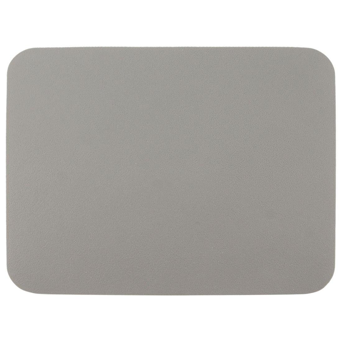 """GTFS Sıcak 8.5 """"x 6.9"""" Yumuşak Silikon Pürüzsüz Kare Gri Masaüstü Mouse Pad Mat"""